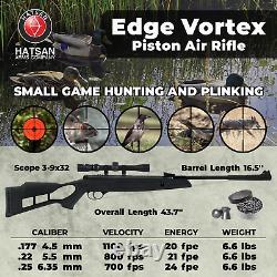 Hatsan Edge Vortex Combo. 22 Caliber Air Rifle