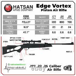 Hatsan Edge Vortex Gas Piston Combo. 25 Caliber Air Rifle