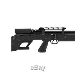 Hatsan HGBullBoss-22 BullBoss. 22 Caliber Air Rifle with Quiet Energy, Black