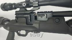 Hatsan Hercules. 30 cal PCP air rifle with 3 magazines, scope, and bipod