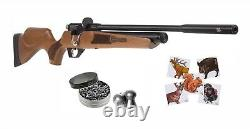 Hatsan Hydra. 22 Cal Air Rifle with Pack of Pellets and Paper Targets Bundle