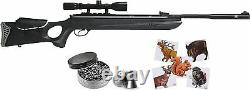 Hatsan Mod 130S New. 30 Cal Vortex QE Air Rifle with 3-9×40 Scope with Bundle