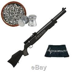 Hatsan Mod BT65.22 and. 25 Calibers PCP Bolt Action Air Rifle with pellets pack