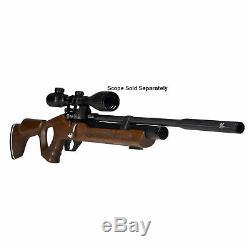 Hatsan Versatile Flash QE 0.25 Caliber PCP Bolt Action Repeater Air Gun, Wood