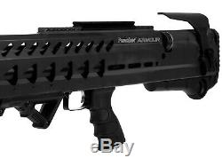 Kral Puncher Armour PCP Air Rifle Black 0.22 cal Bundle with FREE RITON Scope
