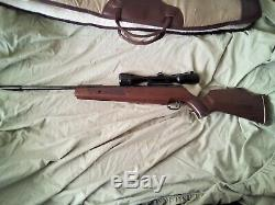 Mint Condition Theoben / Beeman Crow Magnum 22 cal pellet riffle