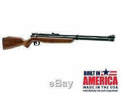 New Crosman Benjamin Discovery. 22 Caliber PCP/CO2 Air Rifle Kit BP9M22GP