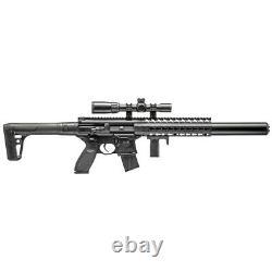 New Sig Sauer MCX. 177 Call BB Semi-Auto CO2 Air Rifle Gun with Scope Black