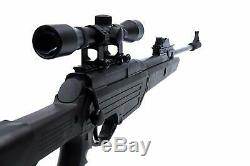 PELLET GUN AIR RIFLE w SCOPE 1350 FPS Hunting. 177 Cal Bear River TPR 1200 NEW