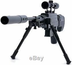 Power Piston. 177 Cal. Pellet Break Barrel Sniper Air Rifle Gun w\ 4x32 Scope