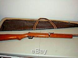 Rare 1990's Benjamin Sheridan 397P. 177 Cal. Pump Rifle Nickle Barrel With Case