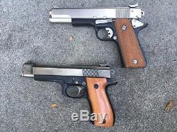 Rare Vintage LD Philippine Co2 Bulk Fill Air. 177 Caliber Pistols Pellet Guns