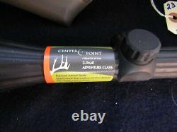 Remington Genesis 1000x. 177 cal. Air rifle W- Center Point MIL DOT Scope In Box