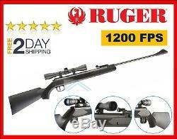 Ruger Blackhawk 1200 Powerful Varmint Pest Hunting Rifle. 177 Cal Pellet Air Gun