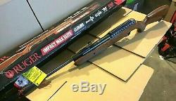 Ruger Impact Max Elite Elite. 22 Cal Pellet Air Gun Rifle 4x32 Scope 1050 FPS