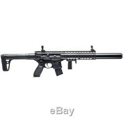 SIG Sauer MCX ASP 30-Round Pellet Air Rifle with Front & Rear Sights in Black