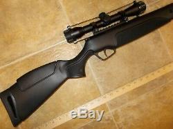 STOEGER 1517647 Air Rifle Pellet Gun. 22 5.5mm EXC+ SPORTER Airgun NoRSV wScope