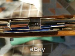 Sheridan F9 Series Air Rifle Silver Streak Co2 Nickel Racine Very Rare Mint