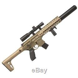Sig Sauer AIR-MCX-SCOPE-177-88G-30-FDE MCX Air Rifle. 177 CO2 88 Gram 30 Round