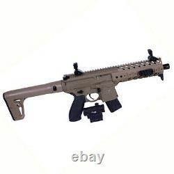 Sig Sauer AIR-MRD-177-88G-30FDE Air Rifle. 177 Caliber withRed-Dot Dark Earth