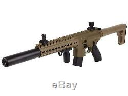 Sig Sauer MCX. 177 Cal CO2 Powered Pellet Rifle Flat Dark Earth Air