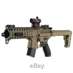 Sig Sauer MPX. 177 Caliber 30 Rounds CO2 Powered Air Rifle with 1x20mm Red Dot