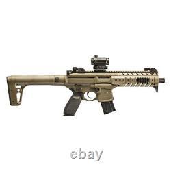 Sig Sauer MPX. 177 Semi-Auto CO2 Air Rifle Micro Red Dot Sight Flat Dark Earth
