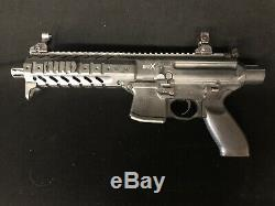 Sig Sauer MPX ASP Air Rifle with 30-Round Pellet Magazine. 177 cal (4.5mm)-BLK