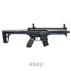 Sig Sauer Mpx. 177 Cal Pellet Co2 Powered Air Rifle 30 Rounds Magazine, Black