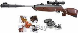 Umarex Forge Combo. 177 cal Air Rifle with Paper Targets and Lead Pellets Bundle