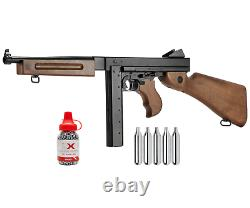 Umarex Legends M1A1.177 Blowback Air Rifle with CO2 Tanks and BBs Bundle