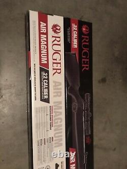 Umarex Ruger Air Magnum Break Barrel. 22 Cal Pellet Gun Air Rifle w 4x32mm Scope