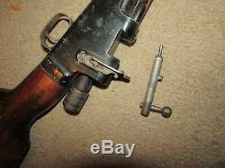 Vintage 1920's Crosman Air Gun, 22 Cal, Works Great, Crosman Pellet Air Rifle, VGC