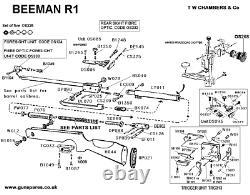 Vintage Beeman R1 Air Rifle 0.177 Cal Spring-Piston, Good Condition, Accurate