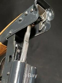 Vintage Daisy Model 21 BB Air Gun Double Barrel Rifle Pump Up Shotgun Pellet