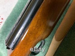 Vintage Feinwerkbau 124.177 cal air rifle withsling