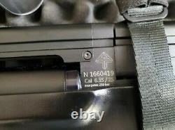 Vulcan v3 25 cal, 5 magazine 3000-3500 bar max capacity Pcp air rifle