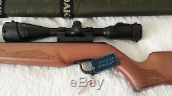 Walther Terrus Air Rifle Wood Stock. 22 CALIBER 2252079 Umarex with SCOPE