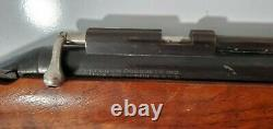 1964 Sheridan Blue Streak 5mm 20 Cal Pump Pellet Air Gun Rifle, Pas De Dommages, Fonctionne