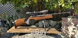 1988 Feinwerkbau Modèle 300s Allemand 10 Mètres Target Carabine À Air Comprimé Et Orig. Sites 177