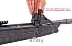 22 Cal Hatsan Speedfire Magnum 10 Tir Powered Répéteur Carabine À Air Comprimé Avec Scope