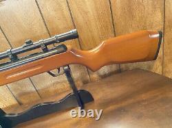 5.5mm Calibre Pellet Air Rifle 22 Calibre Bois. 22 Calibre + 4 X 20 Portée