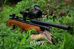 Aea Challenger Bullup Air Rifle 25cal En Stock Avec La Portée Installée