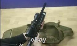 Aea Precision Backpacker Rifle 25 HP Carabine Semi-automatique Avec Pcp Seulement Supperessor