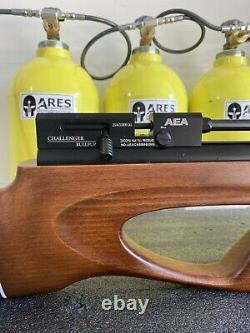 Aea Precision Challenger Bullup Pcp. 25 Bolt Avec (2) Magazines Par Zachary