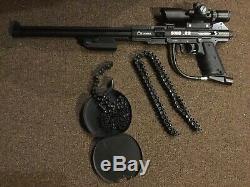Air Ordnance Belt Feed / Drum Entièrement Automatique. Pistolet Tommy À Air Comprimé 22cal Smg