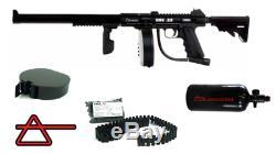 Air Ordnance Smg 22 Pistolet À Air Mitrailleur Automatique Avec Chargeur De Vitesse Hpa Avec Ceinture Tactique