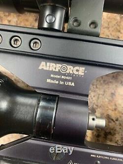 Airforce Airguns Condor Carabine À Air Comprimé. 22 Calibre De Cas Réservoir D'air Bipied Pcp R0401