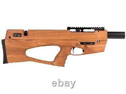 Ataman Bp17 Pcp Bullpup Air Rifle. 22 Cal. Sapele Redwood Stock + Rmr Red Dot