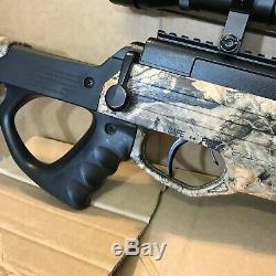 Bear River. 177 Cal Tpr 1200 À Granulés Pistolet À Air 4x32 Portée 1350 Fps Camo Rifle